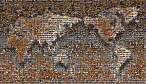 Cropped world Mosaic03