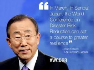 UN Conference Risk Reduction