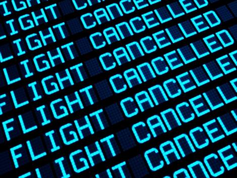 Cancelled Flights Departures Board