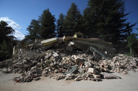 The earthquake that destroyed Amatrice
