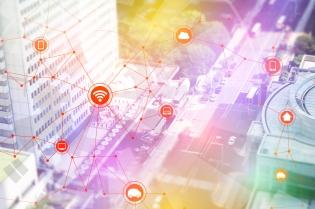 smart city and vehicles, wireless communication network